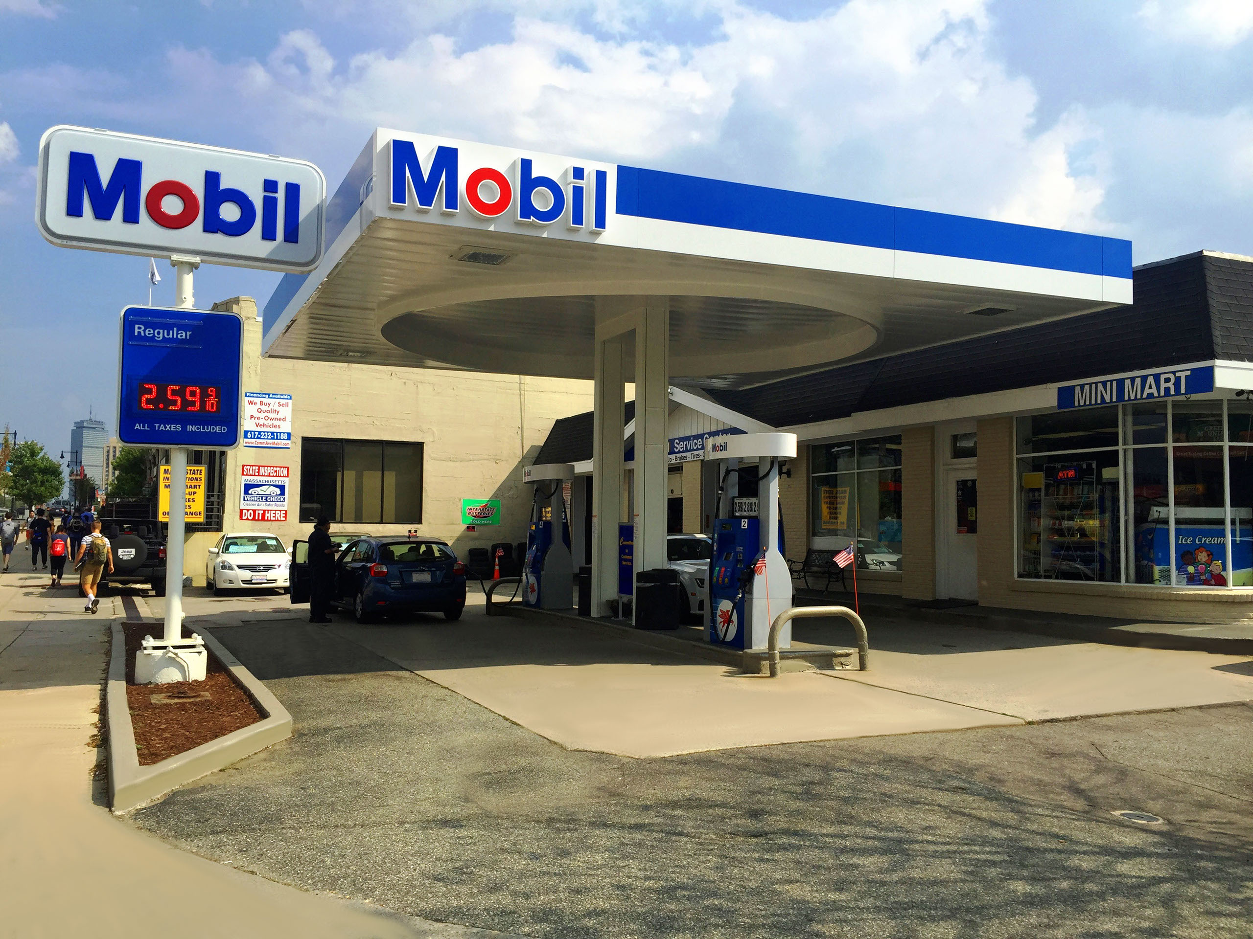 Mobil oil gas station locations - S&p 5 star rated stocks